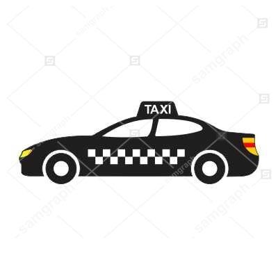 دانلود طرح وکتور تاکسی - taxi vector