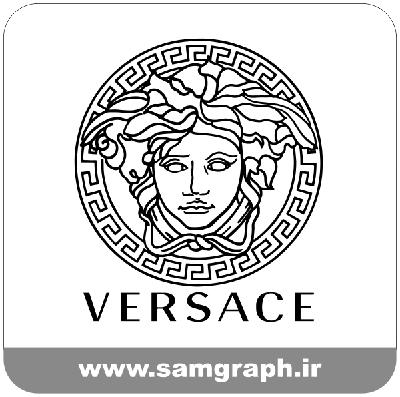 دانلود لوگو وکتور طرح ورساچه برند پوشاک - download logo vector versace