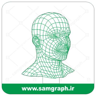 دانلود طرح وکتور ادم،انسان سه بعدی بالبینگ - Download 3D man balbing Vector Design