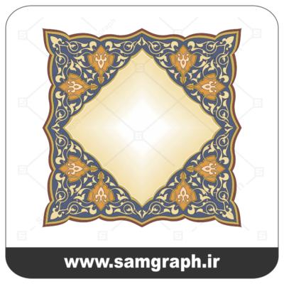 36tazhib eslimi botojeghe farsh tarh vector file kadr11 1