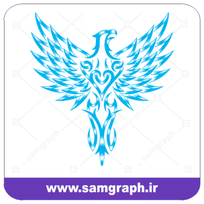 وکتور نماد عقاب - سمبل عقاب - پرنده اسرار آمیز - Eagle Symbol Vectr