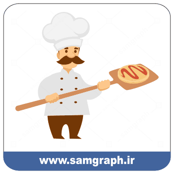 دانلود وکتور نانوا - Download Baker Vector