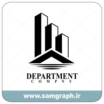 وکتور لوگو و آرم لاکچری مشاور املاک و مسکن Real State Luxury Logo