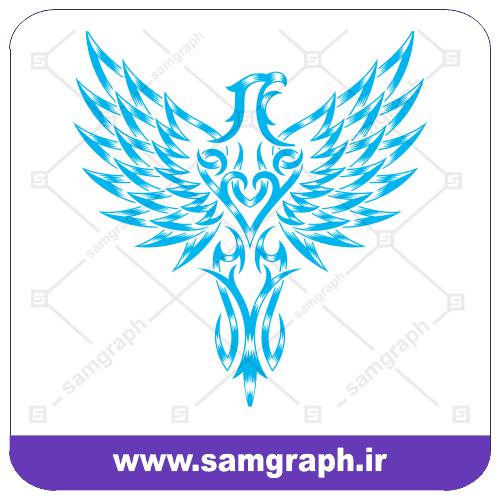 وکتور لوگو آرم و نماد عقاب - Eagle symbol