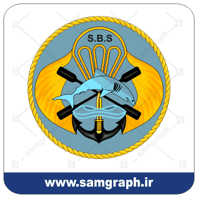 وکتور لوگو نیروی ویژه دریایی ارتش جمهوری اسلامی