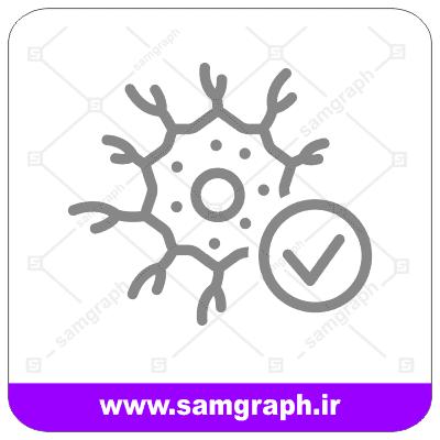 وکتور نورون عصبی - Nerve neuron vector
