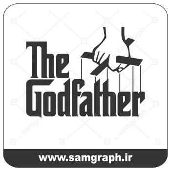 وکتور لوگو فیلم پدرخوانده-film the godfather