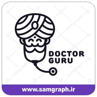 وکتور دکتر طب سنتی هندوستان - Vector traditional medicine doctor
