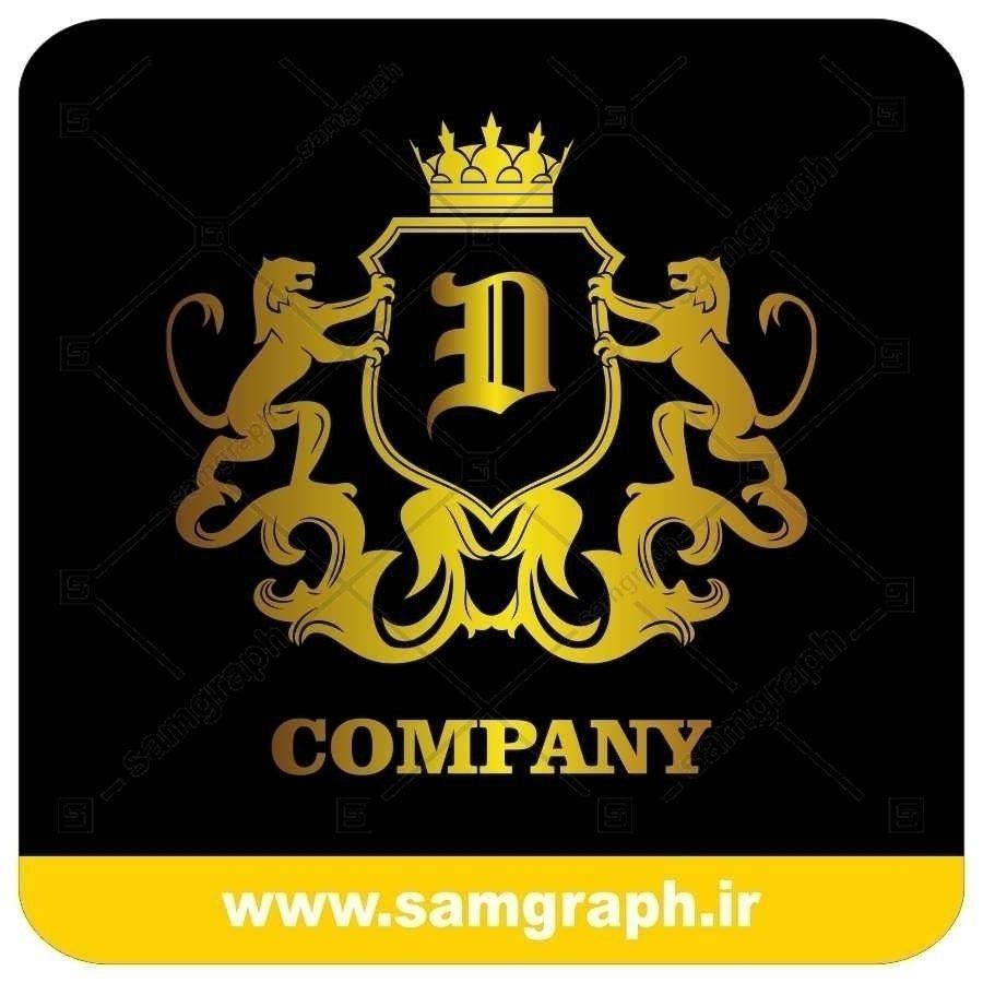 لوگو آماده لاکچری حرف D لاتین - Logo Luxury Sample