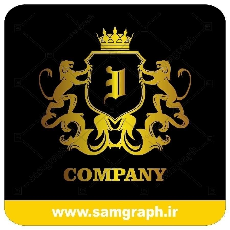 لوگو آماده لاکچری حرف I لاتین - Logo Luxury Sample