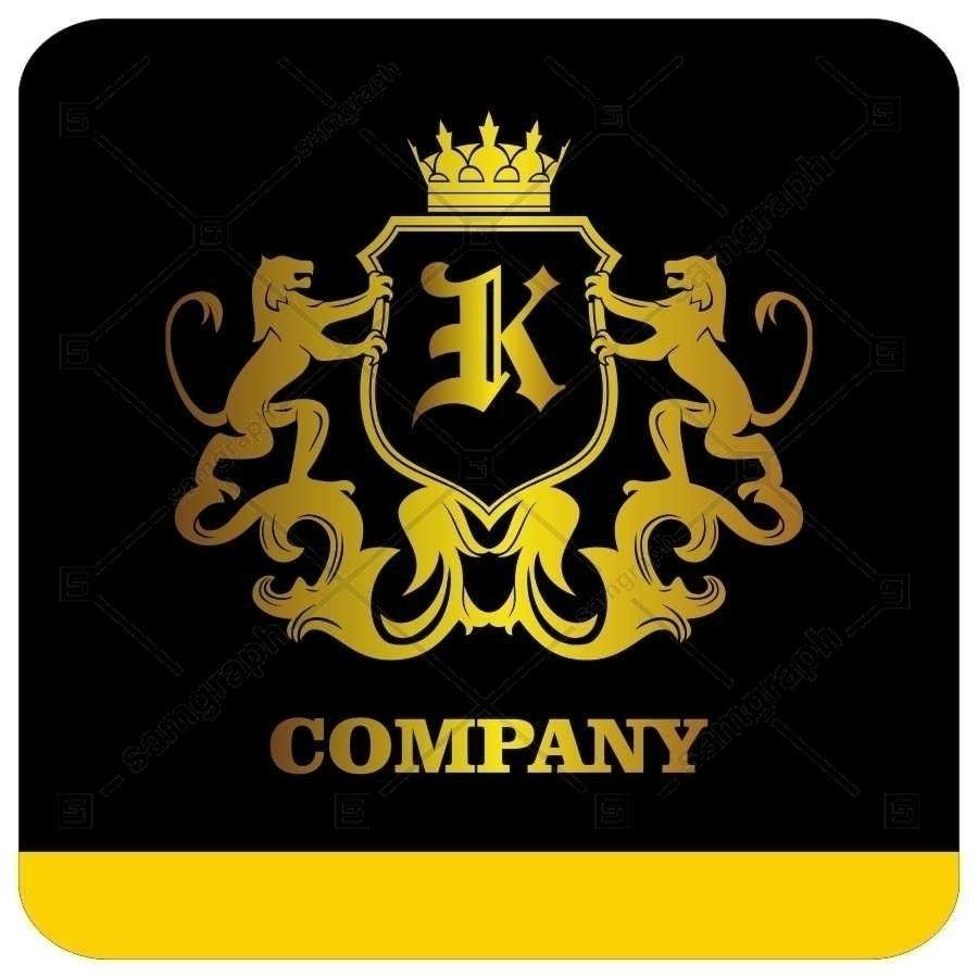 لوگو آماده لاکچری حرف K لاتین - Logo Luxury Sample