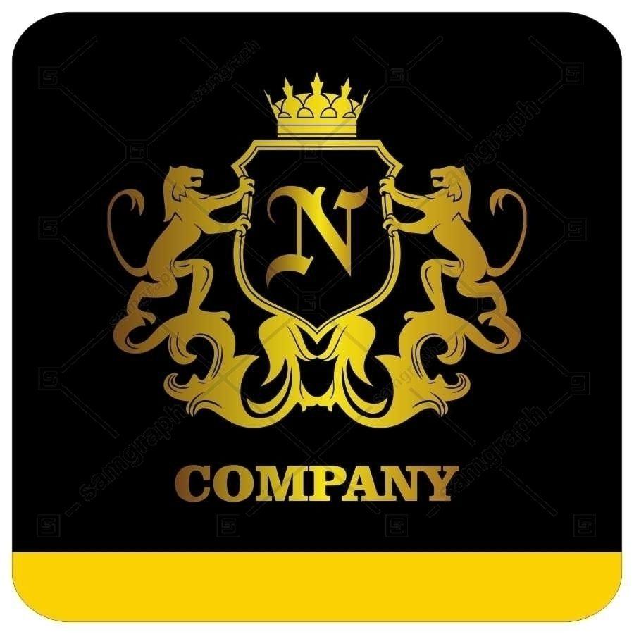 لوگو آماده لاکچری حرف N لاتین - Logo Luxury Sample