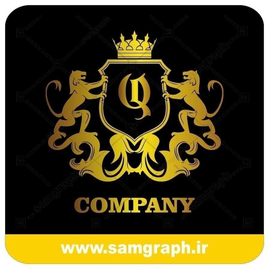لوگو آماده لاکچری حرف Q لاتین - Logo Luxury Sample