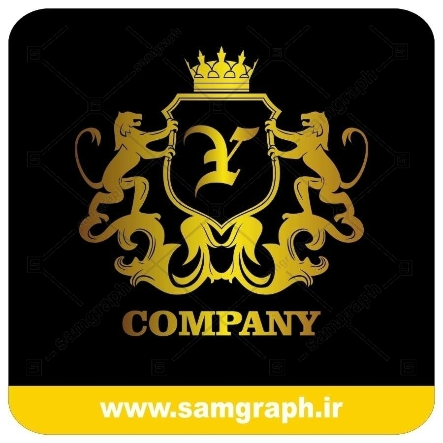 لوگو آماده لاکچری حرف Y لاتین - Logo Luxury Sample