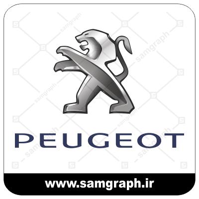 وکتور لوگو و آرم شرکت خودروسازی پژو - CAR PEUGEOT