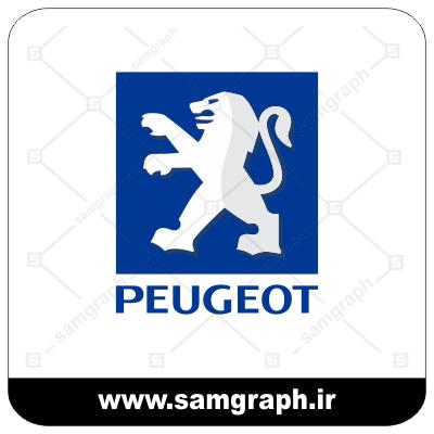 وکتور لوگو و آرم شرکت خودروسازی پژو - CAR PEUGEOT-3