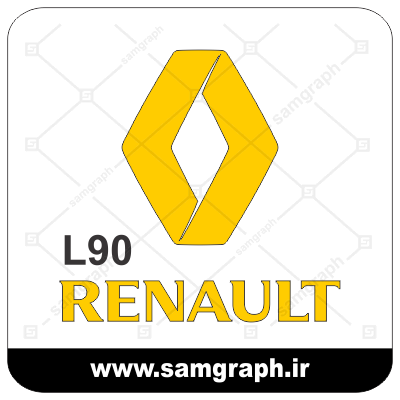CAR IRANI RENUALT SAIPA LOGO FILE ARM VECTOR LATIN