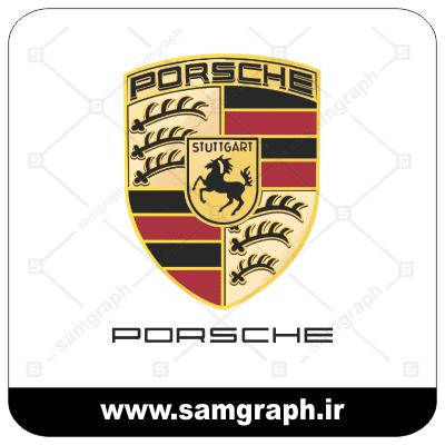 وکتور لوگو و آرم شرکت خودروسازی پورشه - CAR PORSCHE