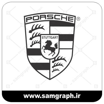 وکتور لوگو و آرم شرکت خودروسازی پورشه - CAR PORSCHE-3