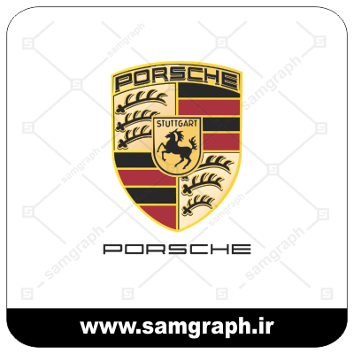 وکتور لوگو و آرم شرکت خودروسازی پورشه - CAR PORSCHE-1