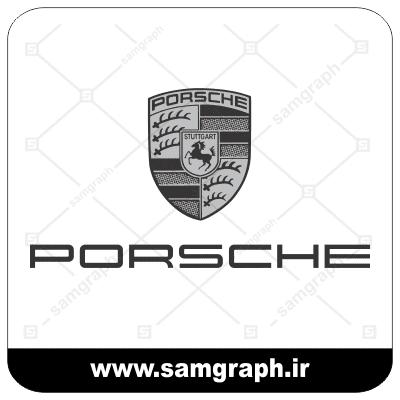 وکتور لوگو و آرم شرکت خودروسازی پورشه - CAR PORSCHE-2