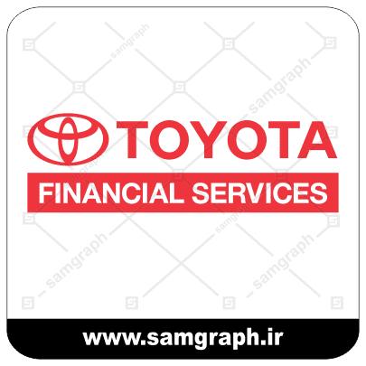 وکتور لوگو و آرم شرکت خودروسازی تویوتا - CAR TOYOTA-3