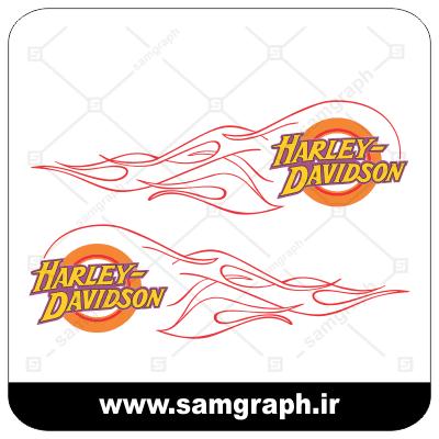 وکتور لوگو و آرم شرکت موتورسازی هارلی دیویدسون - HARLEY DAVEDSON-1