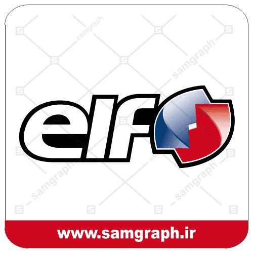 logo vector oil motor renult elf 1