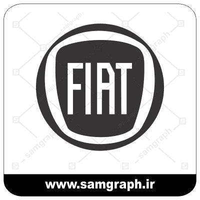 دانلود لوگو وکتور و آرم برند خودروسازی ایتالیایی فیات - vector logo fiat car