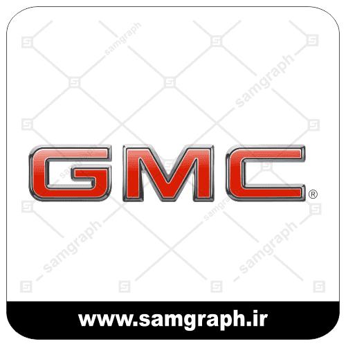 لوگو و آرم وکتور شرکت خودروسازی آمریکایی جی ام سی - vector logo company GMC