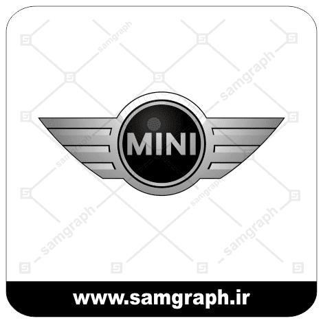 وکتور لوگو و آرم برند خودروسازی مینی - vector MINI logo car
