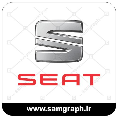 وکتور لوگو و آرم برند خودروسازی سیات - vector SEAT logo car