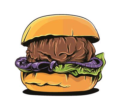 hambrger fast food sandwich vector 1