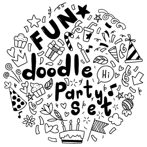 happy birthday greeting card fantezi party vector fun file8 1