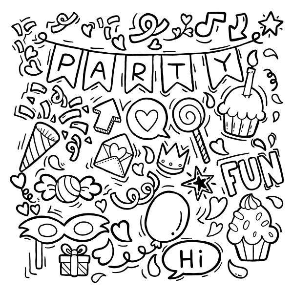 happy birthday greeting card fantezi vector party badkonak file21 1