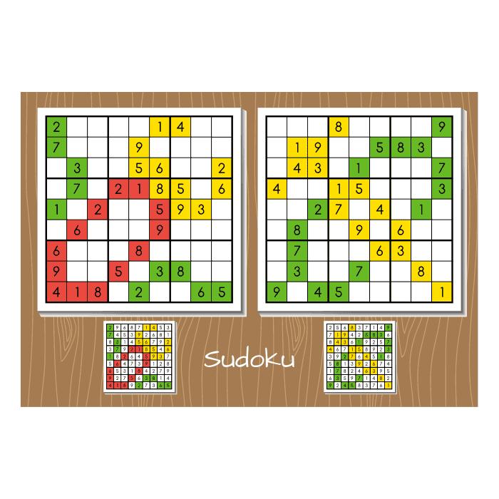 jadval adad sudoku bazi hoshi vector 1