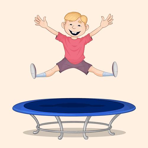 jumping pesar bache bazi vector 1