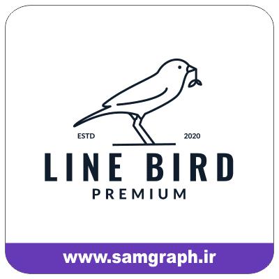 line birds vector 2020 logo file 1