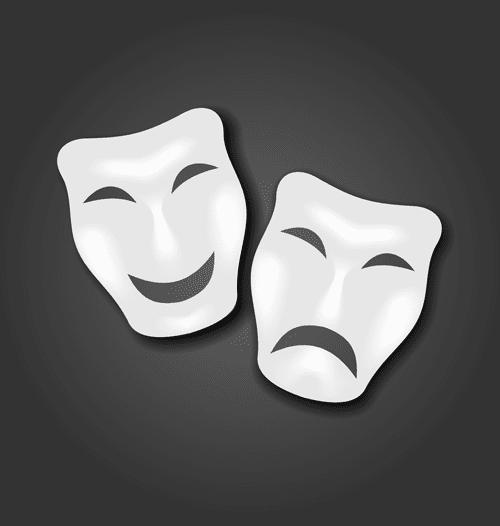 mask joker dalghak narahat shad vector eps 1