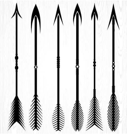 tir kaman tir andazi vector file 1