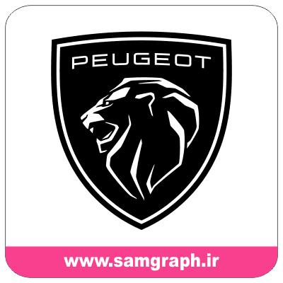 وکتور لوگو و آرم جدید پژو فرانسه - Logo New CAR PEUGEOT