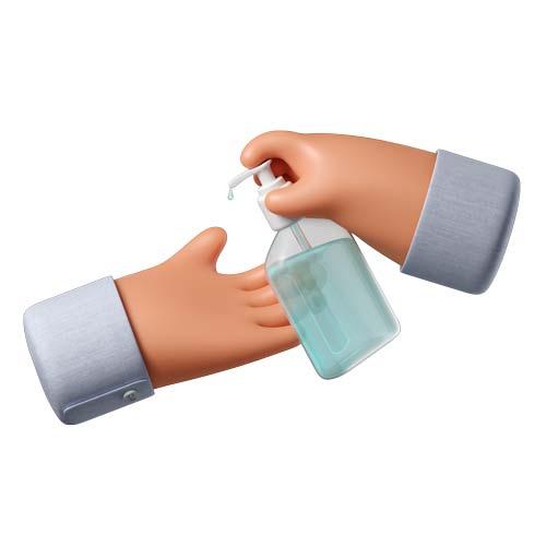 Hands sanitizer 2