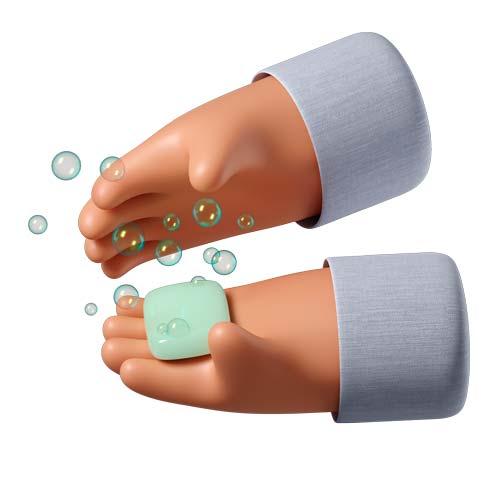 Hands soap 1