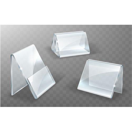 acrylic holder glass plastic display stand 2