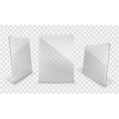 acrylic table displays set 1
