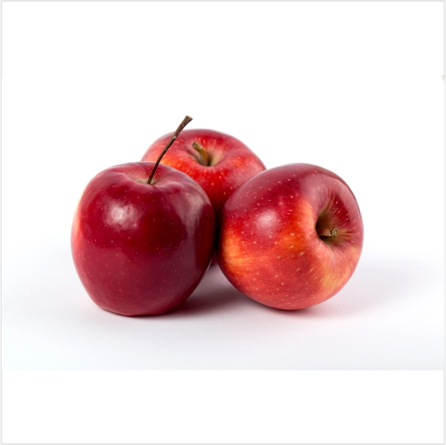 apples red fresh mellow juicy perfect whole white desk 1