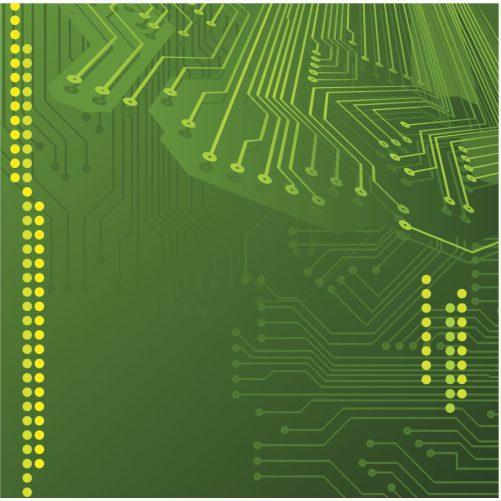 background board electronic madar green 1