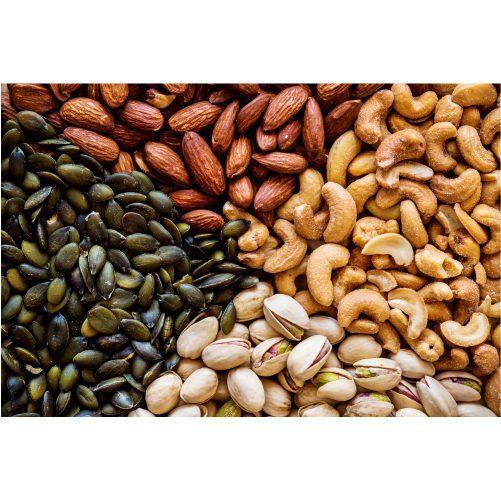 closeup mixed nuts 1