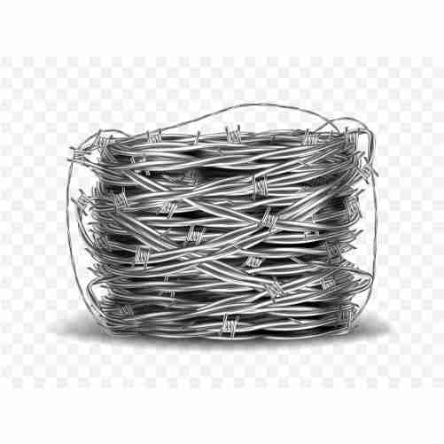 coil metal steel barbed wire with thorns 1