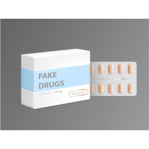fake drugs carton package box 1